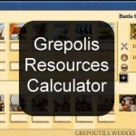 Grepolis Script Resources Calculator