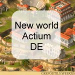 New world Actium DE