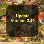Grepolis Update to Version 2.49