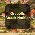 Grepolis Attack Notifier