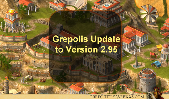 Grepolis Update to Version 2.95