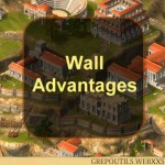 Grepolis Wall Advantages
