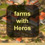 Grepolis: farms with Heros