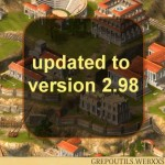 Grepolis updated to version 2.98